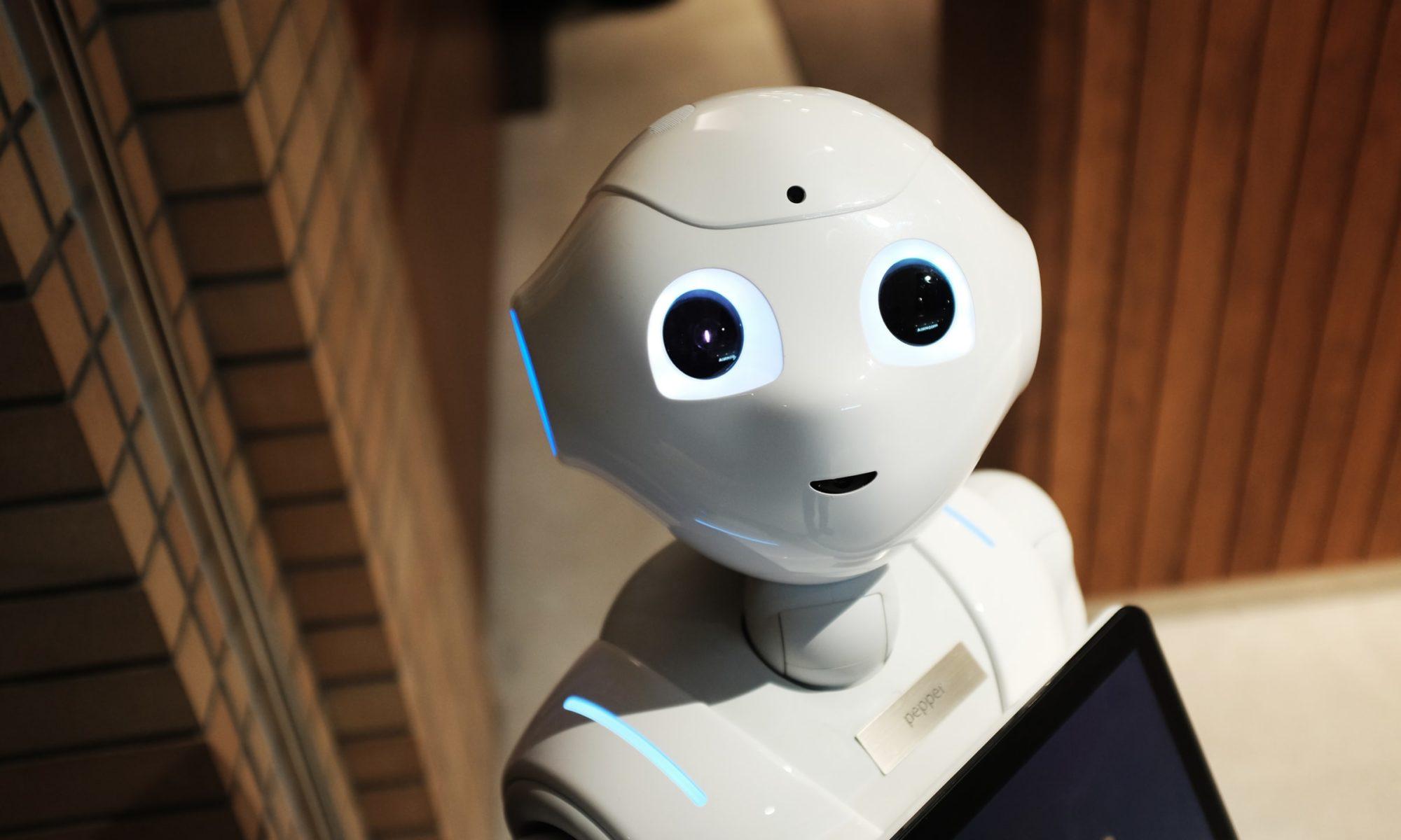 A friendly robot